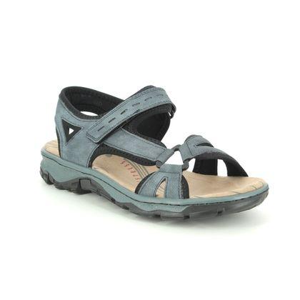 Rieker Walking Sandals - Denim blue - 68879-14 BARRIER