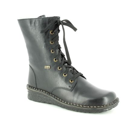 Rieker Fashion Ankle Boots - Black - 70310-00 WALKSTER