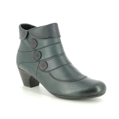 Rieker Boots - Ankle - Blue - 70562-14 SARBOBUT