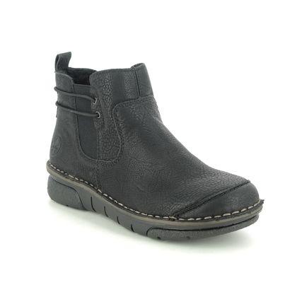 Rieker Chelsea Boots - Black - 73362-00 JOLLYSEA