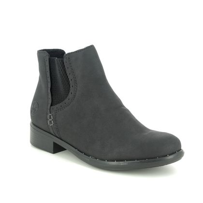 Rieker Chelsea Boots - Black - 77872-00 ASTOR