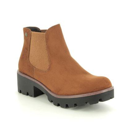 Rieker Chelsea Boots - Tan - 99284-24 NITON