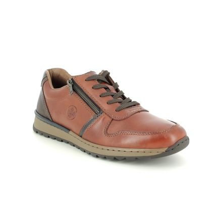 Rieker Casual Shoes - Tan Leather  - B2510-26 PICCOL