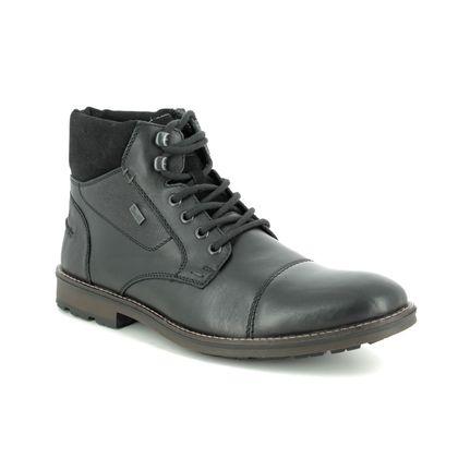 Rieker Boots - Black - F5514-00 BRAINY TEX