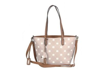Rieker Handbags - Beige-tan - H1007-62 SHIELD TOTE