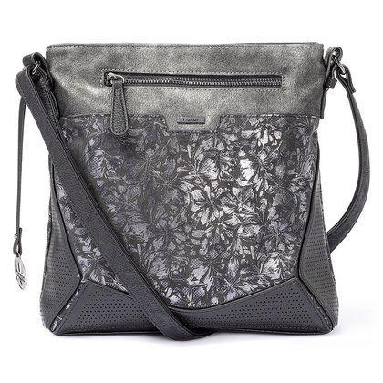Rieker Handbags - Black floral - H1034-90 CROSS BODY
