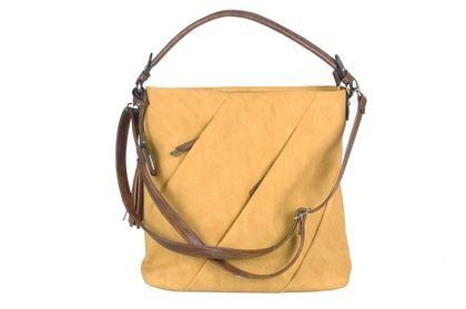 Rieker Handbags - Yellow Tan - H1057-68 CROSS ZIPS