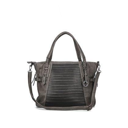 Rieker Handbags - Grey - H1083-45 GRAB STRIPS