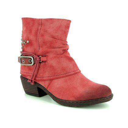 Rieker Girls Boots - Red - K1470-33 BERNASPI