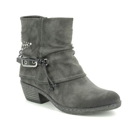 Rieker Girls Boots - Grey - K1470-45 BERNASPI