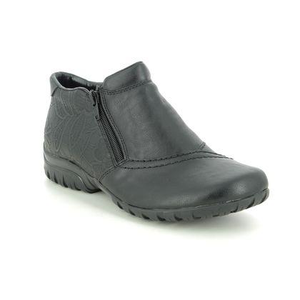 Rieker Boots - Ankle - Black - L46A3-00 BIRBOP