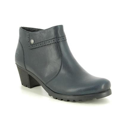 Rieker Boots - Ankle - Navy - M8081-14 GREENLY