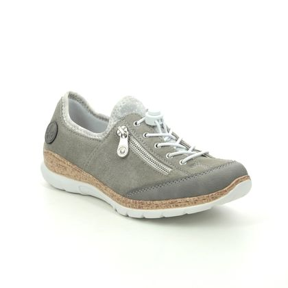 Rieker Trainers - Taupe leather - N42F1-40 EMPIRE 11