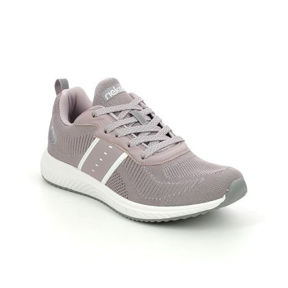 Rieker Trainers - Rose pink - N9612-30 KNITUP