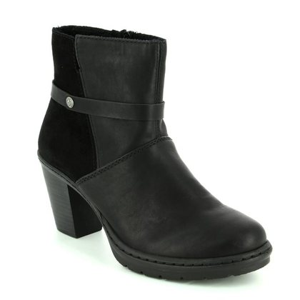 Rieker Fashion Ankle Boots - Black - Y1551-00 SALAPINO