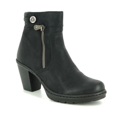 Rieker Boots - Ankle - Black - Y1553-01 SALAPPIN
