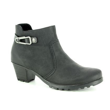 Rieker Fashion Ankle Boots - Black - Y8089-00 GREECE 85