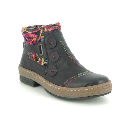Rieker Boots - Ankle - Black - Z6759-00 POLARDIS