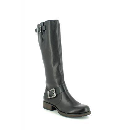 Rieker Knee High Boots - Black - Z9580-00 SANDRA