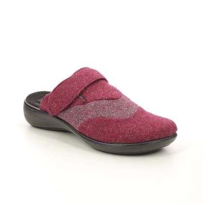 Romika Slippers & Mules - Red - 15308/315460 KORSIKA IBIZA
