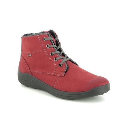 Romika Boots - Ankle - Red - 50308/109461 MADERA 08 TEX