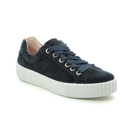 Romika Trainers - Navy Suede - 14201/167530 MONTREAL S 01