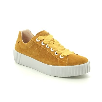 Romika Trainers - Yellow Suede - 14201/167800 MONTREAL S 01
