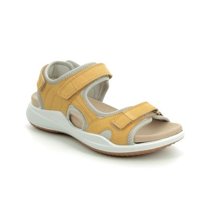 Romika Walking Sandals - Yellow Nubuck - 14301/288800 SUMATRA 01