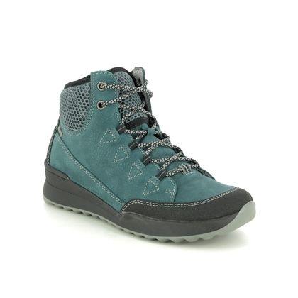 Romika Walking Boots - Teal blue - 50114/158591 VICTORIA 14 TEX
