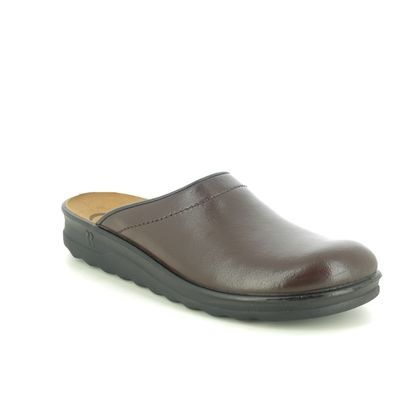 Romika Slippers & Mules - Brown leather - 49060/95304 VILLAGE 260