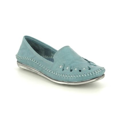 Roselli Comfort Slip On Shoes - Denim leather - 2020/16 SOPHIE