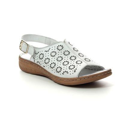 Roselli Comfortable Sandals - White - 2019/06 DAISY