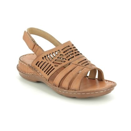 Roselli Comfortable Sandals - Dark Tan - 2020/04 GRACE