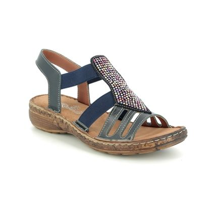 Roselli Comfortable Sandals - Navy - 2019/01 NATALIE