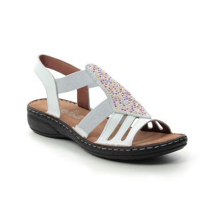Roselli Comfortable Sandals - White - 2019/02 NATALIE