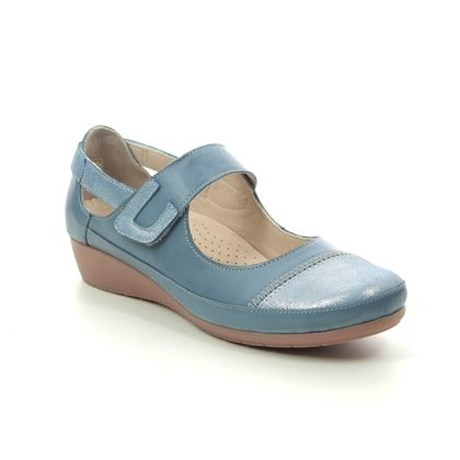 Roselli Mary Jane Shoes - BLUE LEATHER - 2020/14 TAMMY