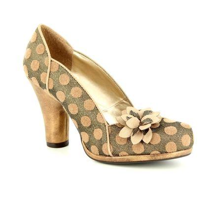 Ruby Shoo Heeled Shoes - Gold - 09216/26 CHARLIE