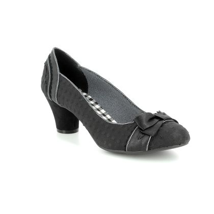 Ruby Shoo Court Shoes - Black - 09185/30 HAYLEY