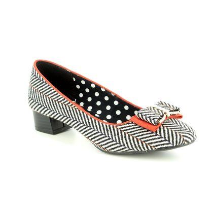 Ruby Shoo Court Shoes - Tweed - 09231/32 JUNE