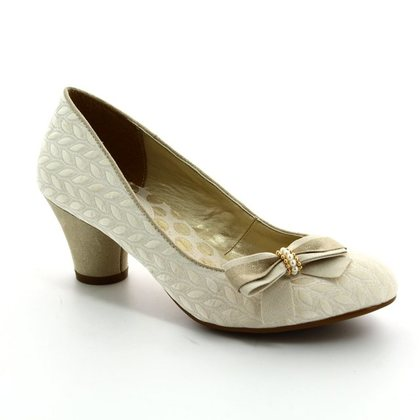 Ruby Shoo Heeled Shoes - Cream - 09090/95 LILY