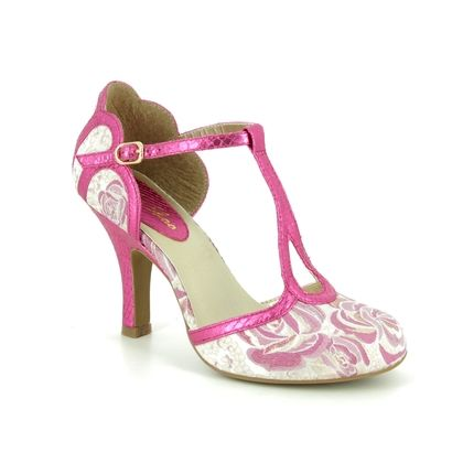 Ruby Shoo Heeled Shoes - Fuchsia Pink - 09267/62 POLLY