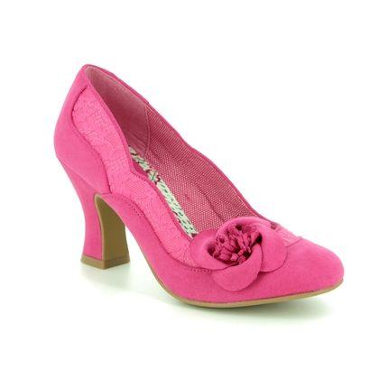 Ruby Shoo Heeled Shoes - Fuchsia - 09297/62 VERONICA