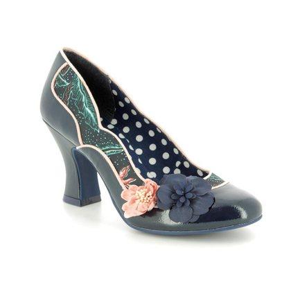 Ruby Shoo Heeled Shoes - Navy - 09184/70 VIOLA