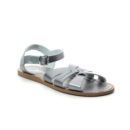 Salt Water Flat Sandals - Pewter - 80051 ORIGINAL