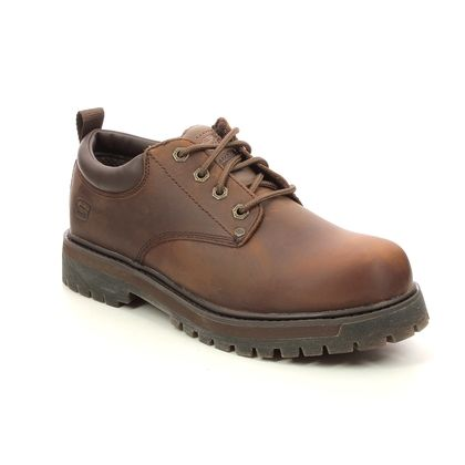 Skechers Casual Shoes - Brown - 204035 ALLEY CATS MESAGO