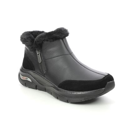 Skechers Ankle Boots - Black - 167190 ARCH FIT BOOT