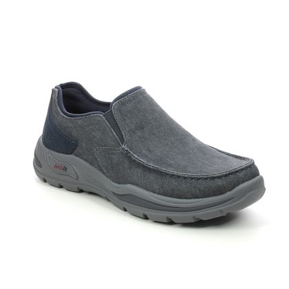 Skechers Slip-on Shoes - Navy - 204178 ARCH FIT MOTLEY