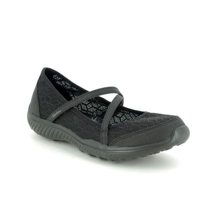 Skechers Mary Jane Shoes - Black - 23297 BE LIGHT EYES