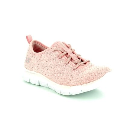 Skechers Girls Trainers - Light pink - 81673 BOLD MOVE JNR