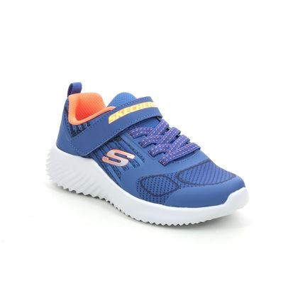 Skechers Boys Trainers - Blue - 403732L BOUNDER GORVEN